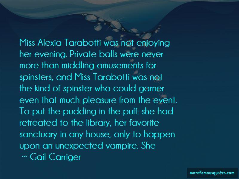 Alexia Tarabotti Quotes