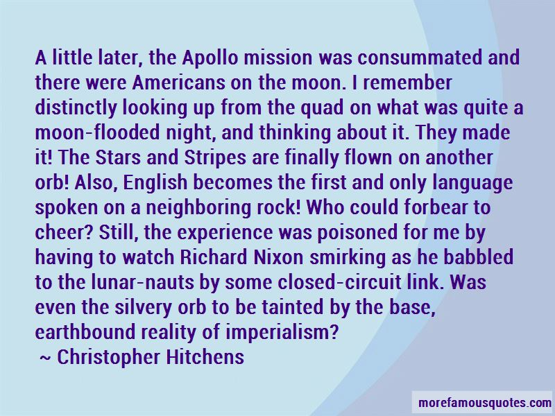 Apollo Moon Mission Quotes