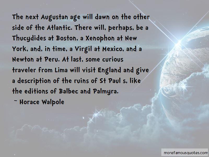 Augustan Quotes