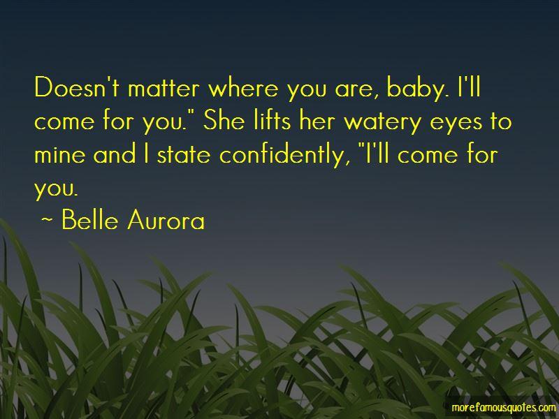 Baby U R Mine Quotes