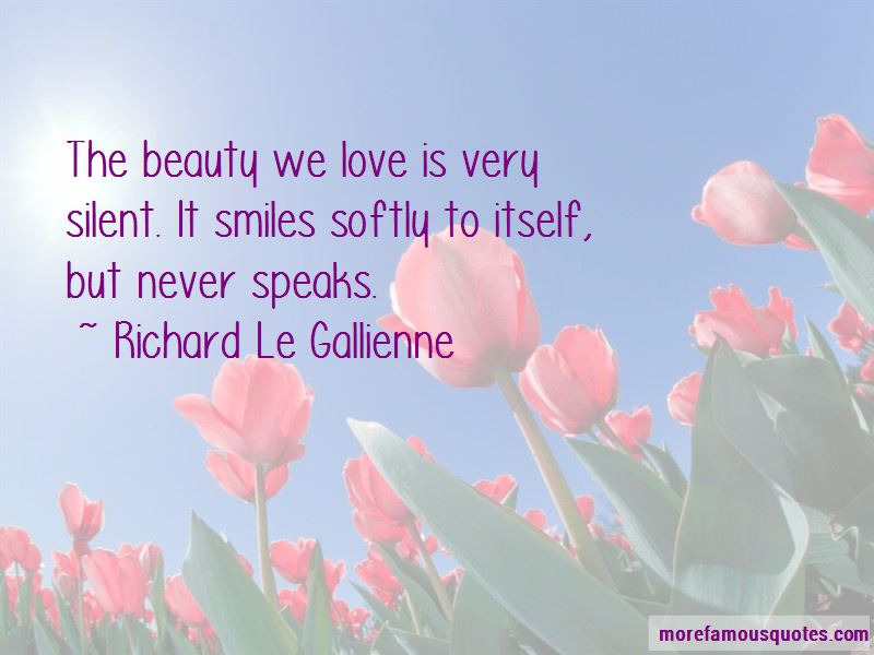 Beauty Speaks For Itself Quotes Pictures 3