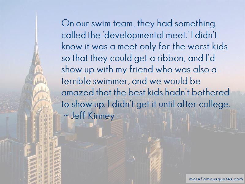 Best Swim Team Quotes