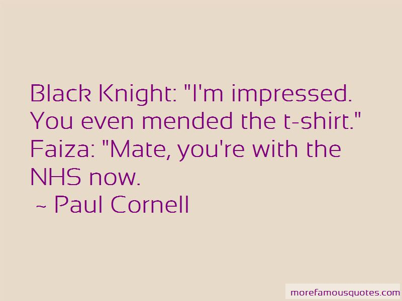 Black Knight Quotes