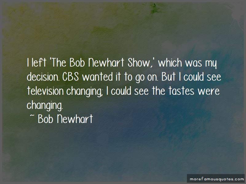 Bob Newhart Show Quotes