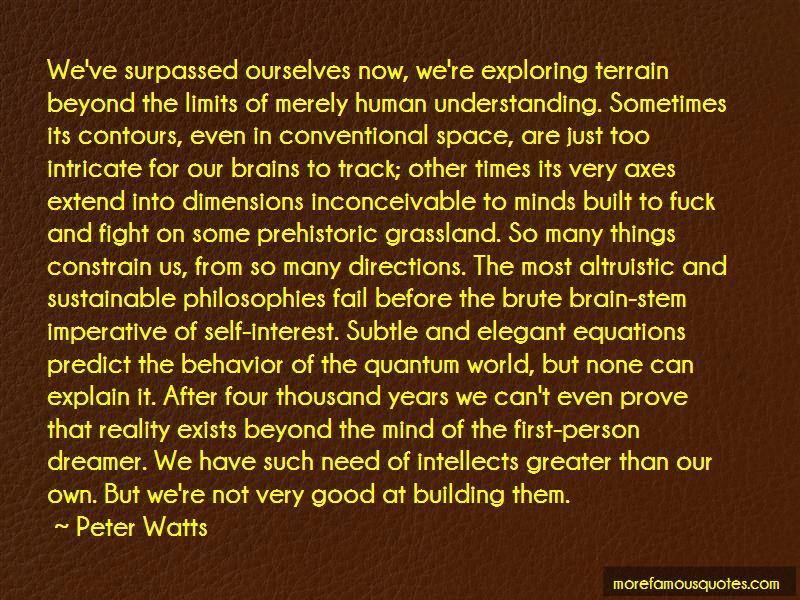 Brain Vs Mind Quotes