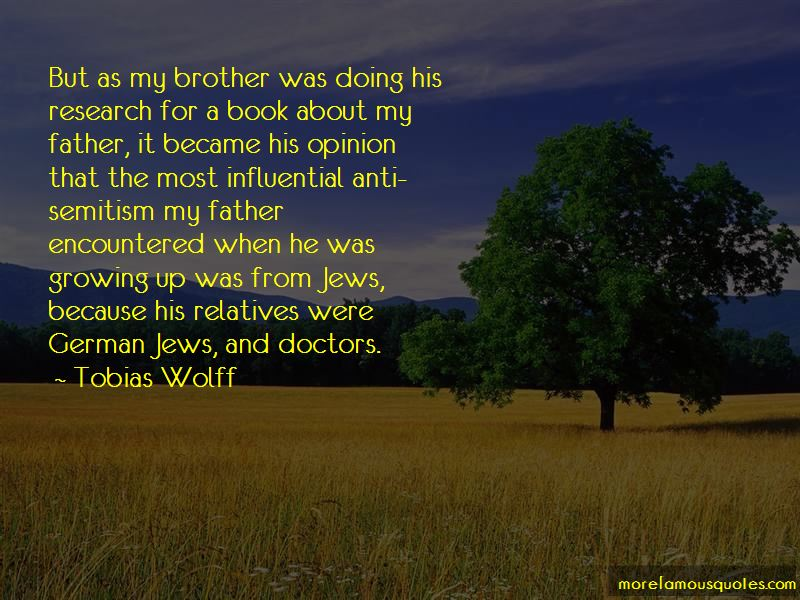 Brother Became Father Quotes