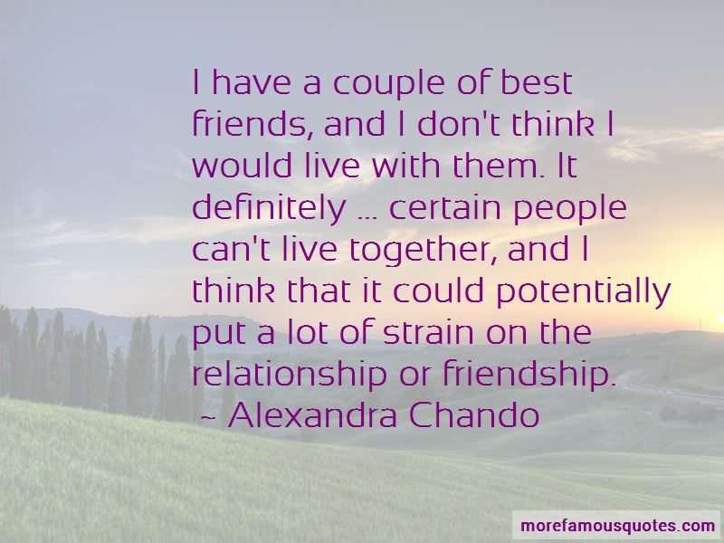 Can't Live Together Quotes