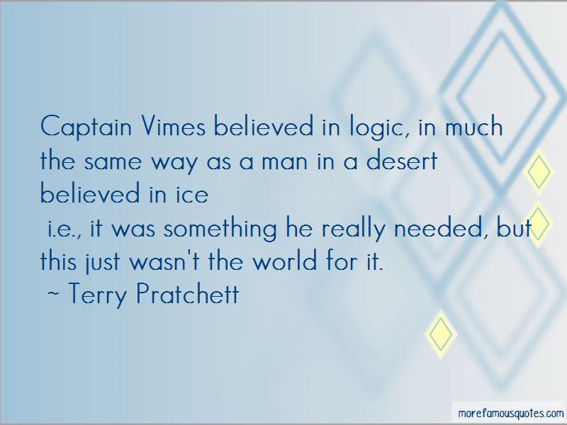 Captain Vimes Quotes