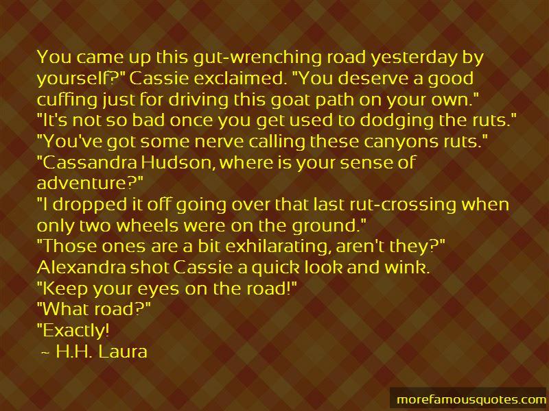Cassandra Alexandra Quotes