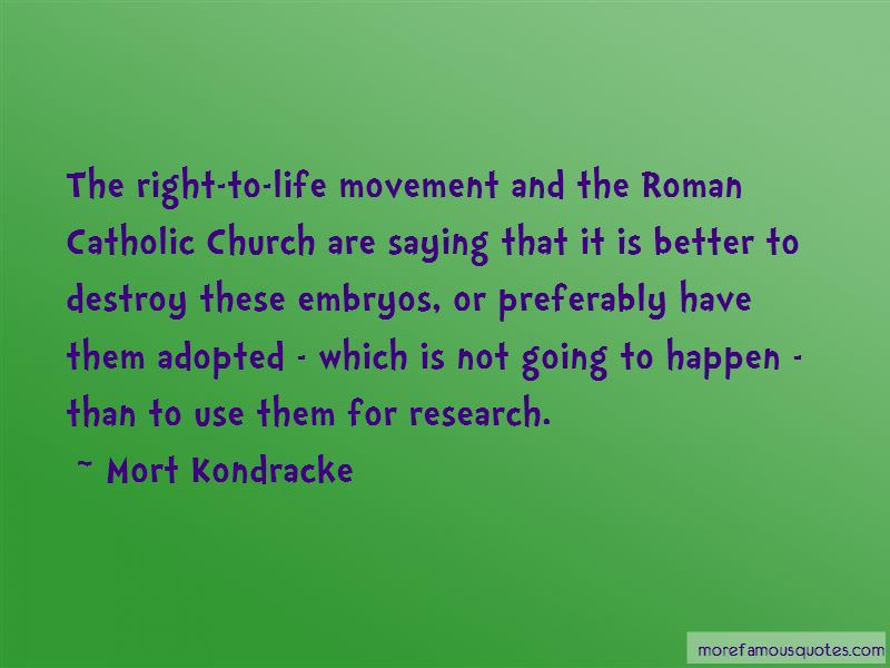 Catholic Right To Life Quotes Pictures 2