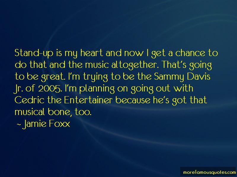 Cedric Entertainer Quotes