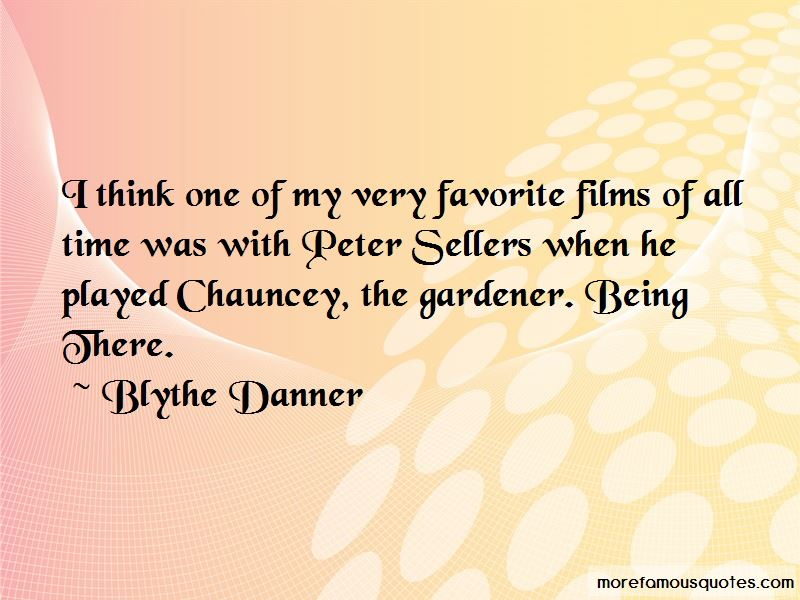 Chauncey Gardener Quotes