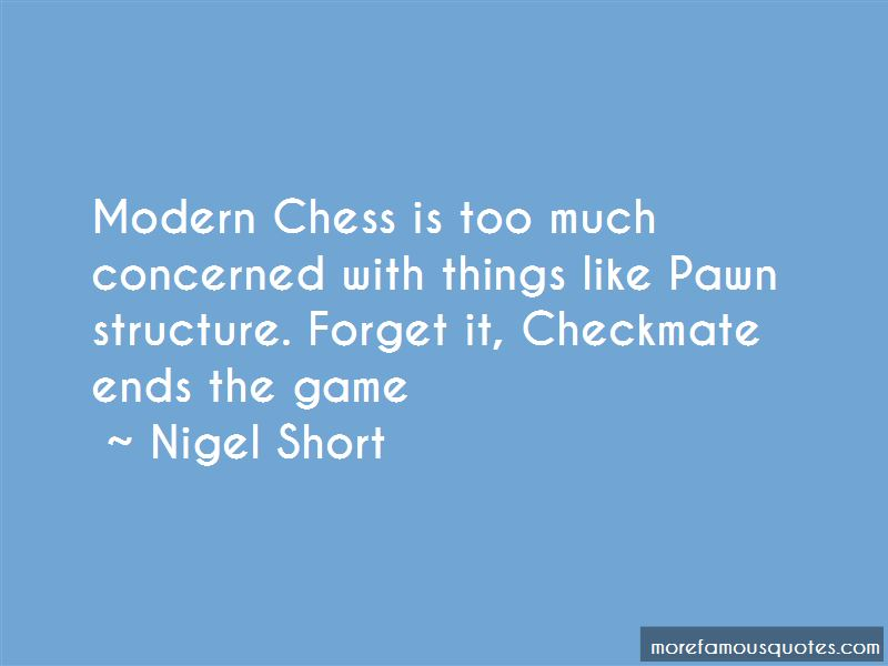 Chess Checkmate Quotes