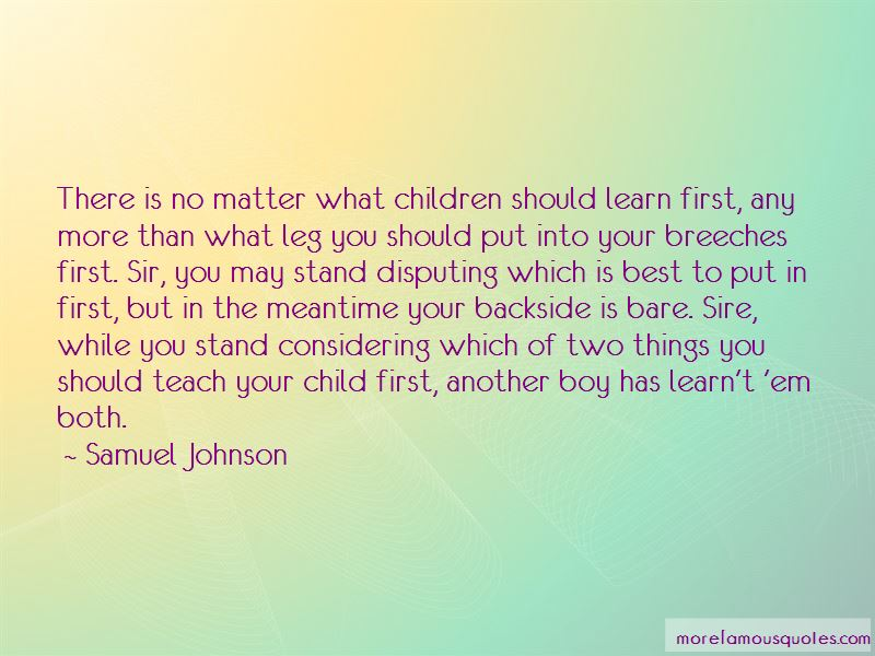 Child First Quotes Pictures 2