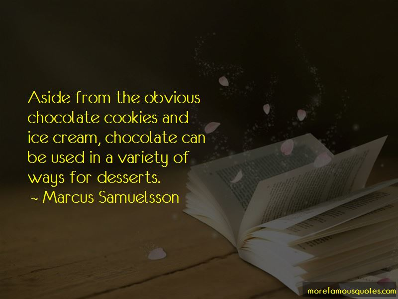 Chocolate Desserts Quotes Pictures 2