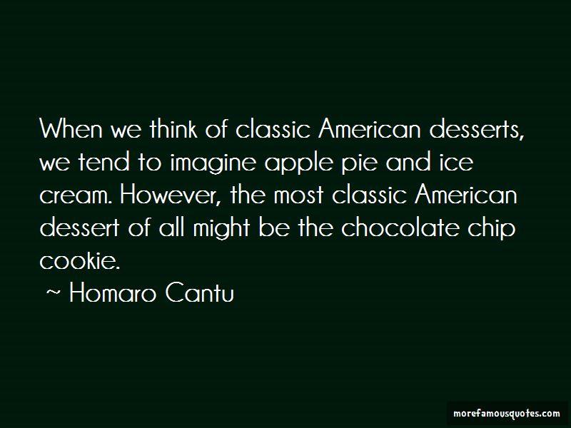 Chocolate Desserts Quotes