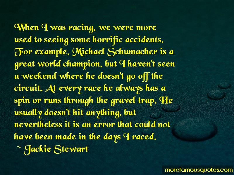 Circuit Racing Quotes