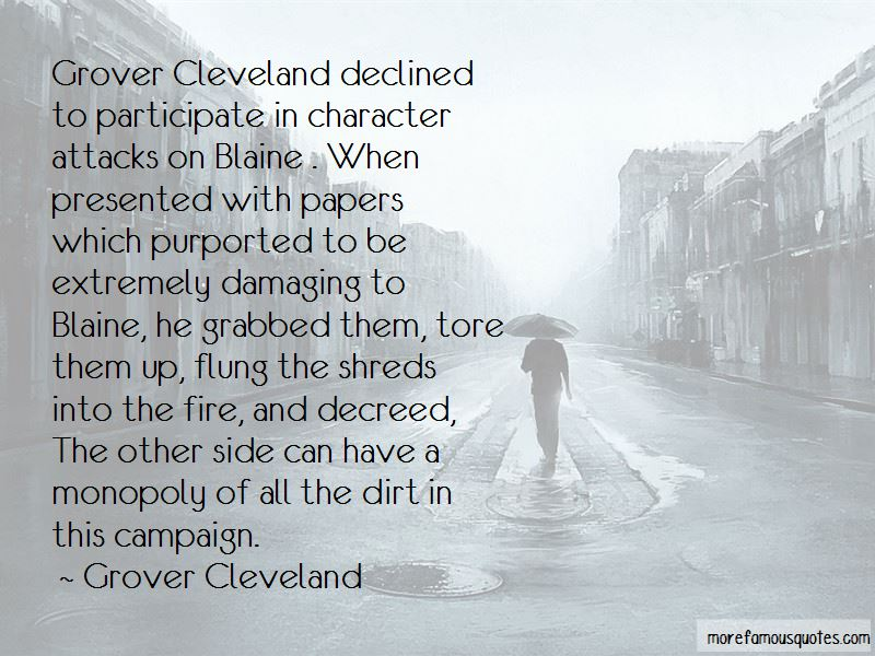 Cleveland Grover Quotes Pictures 3