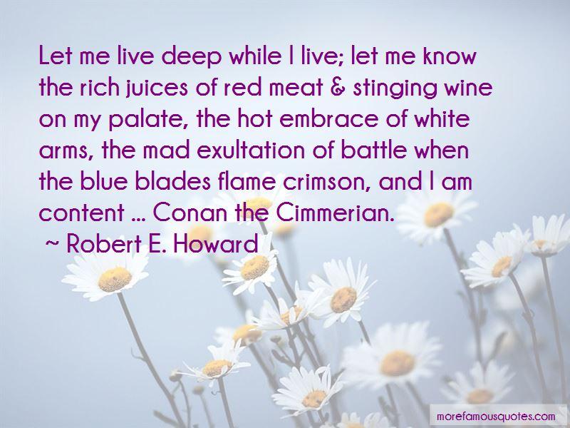 Conan Cimmerian Quotes Pictures 2