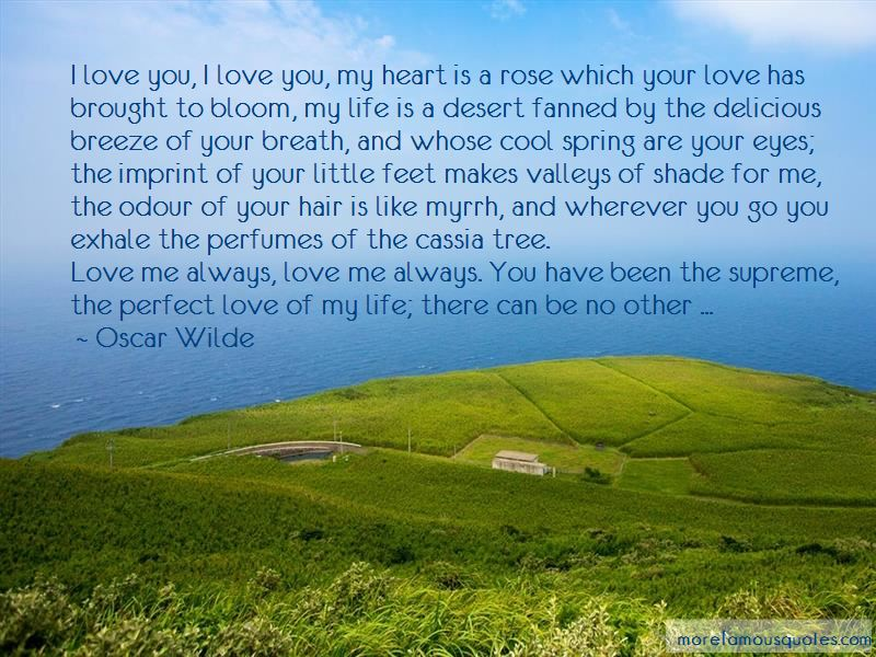 Cool Breeze Love Quotes