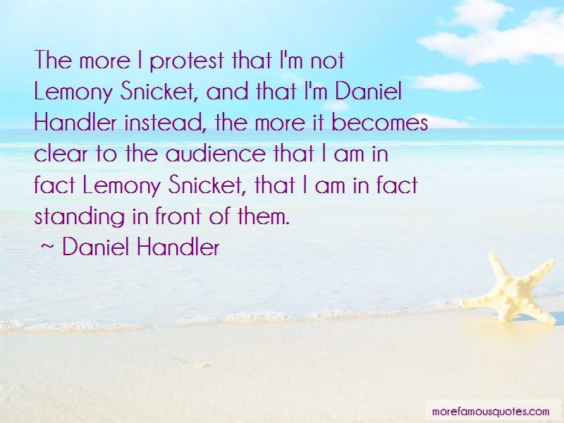 Daniel Handler Lemony Snicket Quotes