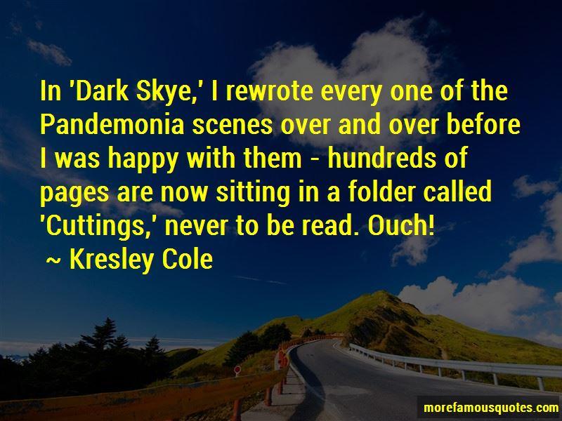 Dark Skye Quotes