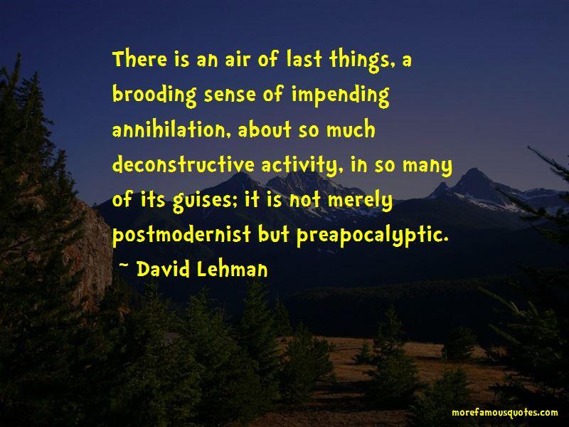 Deconstructive Quotes