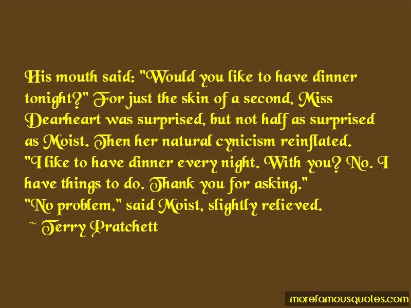 Dinner Tonight Quotes