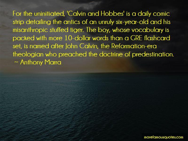 Doctrine Of Predestination Quotes