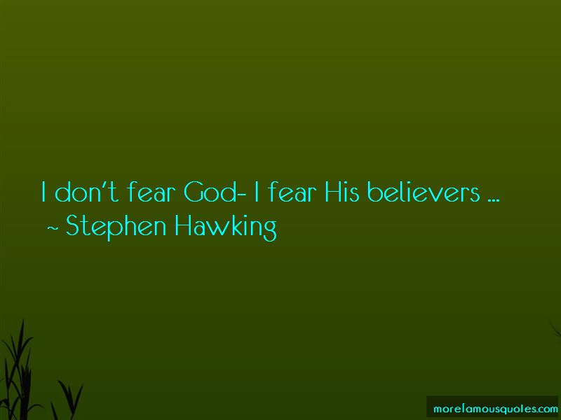 Don't Fear God Quotes Pictures 2