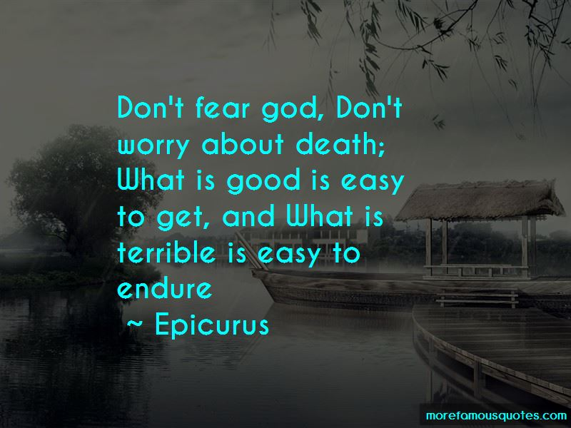 Don't Fear God Quotes