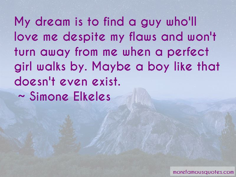 Dream Boy Love Quotes Pictures 4