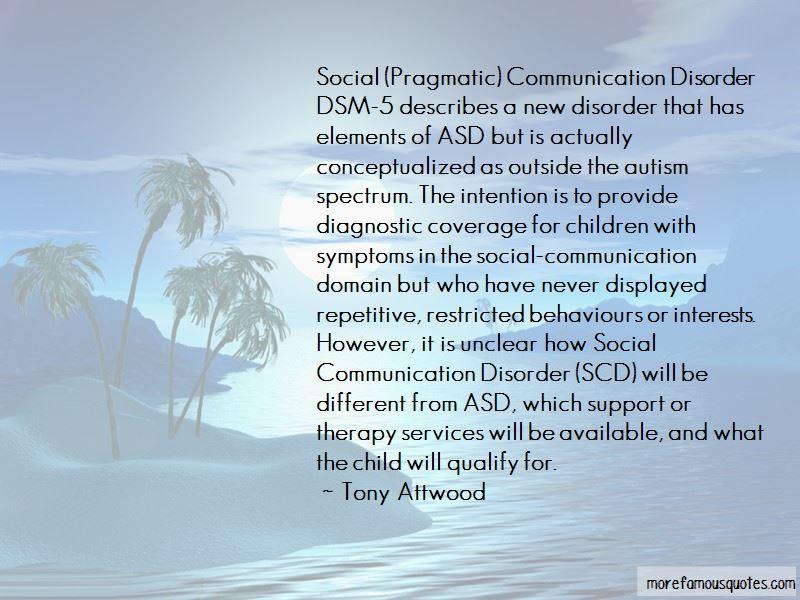 Dsm 5 Quotes
