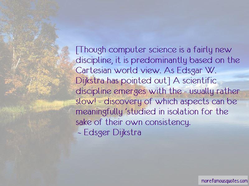 E. W. Dijkstra Quotes