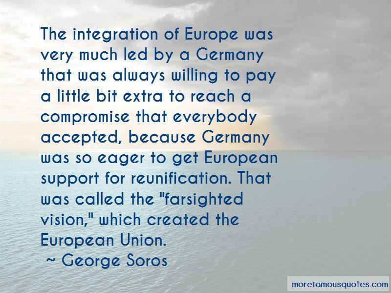 European Union Integration Quotes