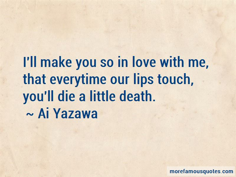 Everytime We Touch Quotes