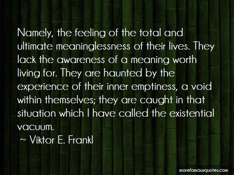 Existential Meaninglessness Quotes Pictures 4
