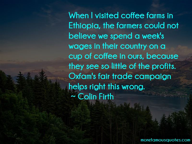 Fair Trade Farmers Quotes Pictures 3