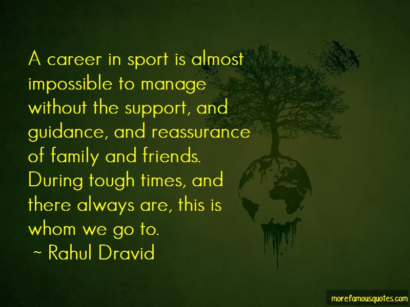 Family Support In Tough Times Quotes