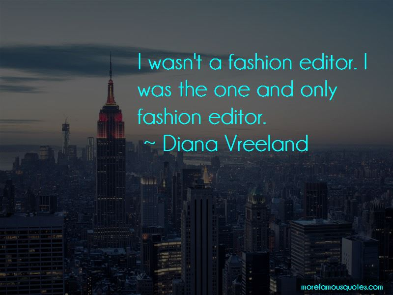 Fashion Editor Quotes Pictures 2