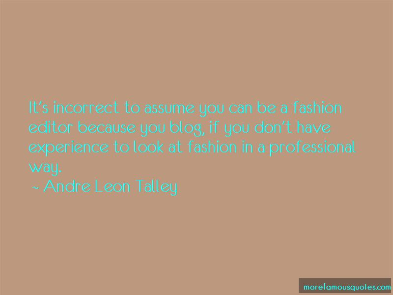 Fashion Editor Quotes Pictures 3