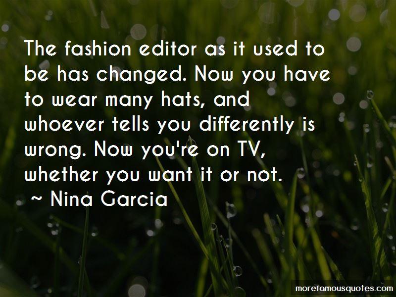 Fashion Editor Quotes