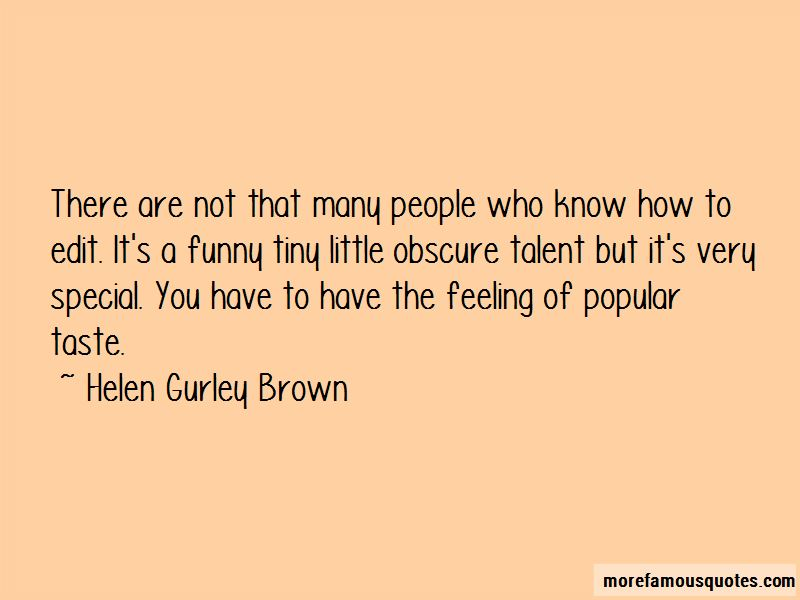 Feeling Special Funny Quotes
