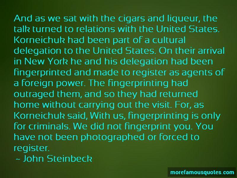 Fingerprint Quotes