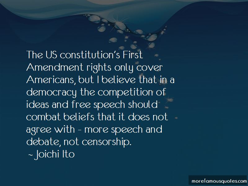 First Amendment Censorship Quotes