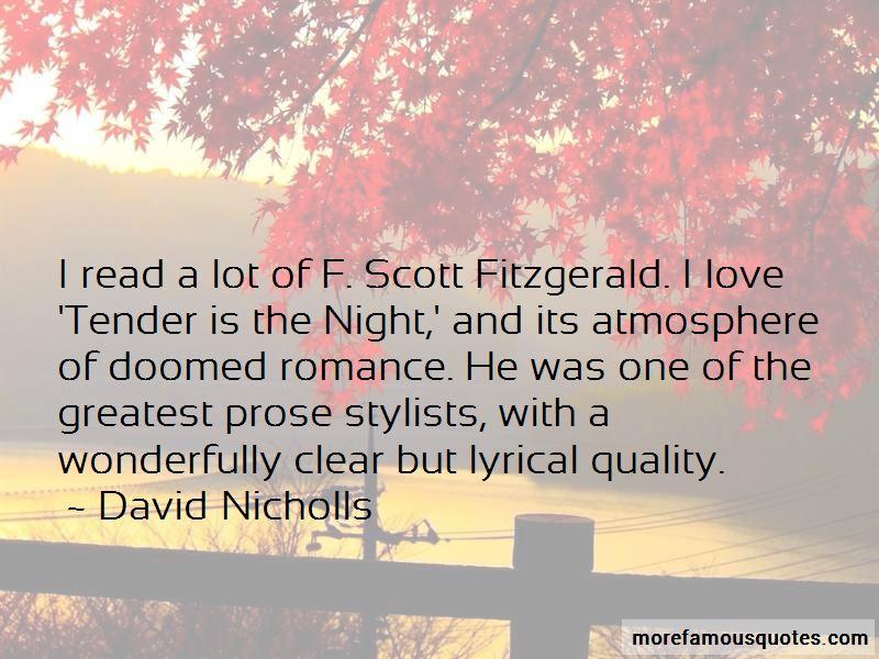 Fitzgerald Scott Quotes