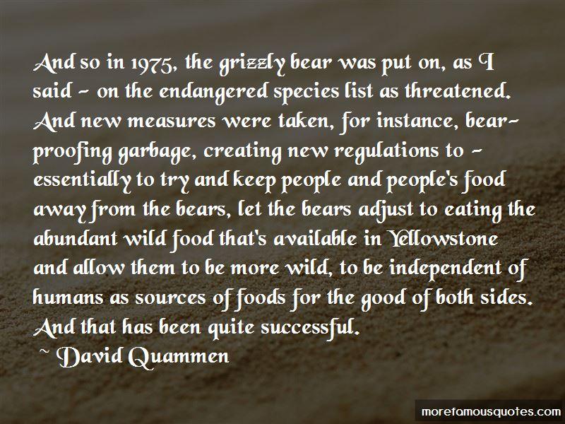 Food Species Quotes