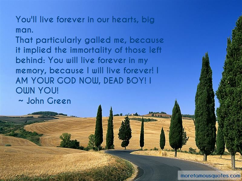Forever In My Memory Quotes