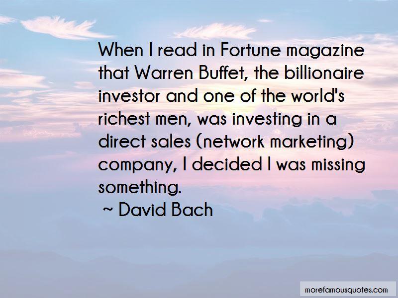 Fortune Magazine Quotes