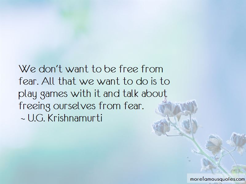 Free From Fear Quotes